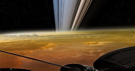 These are the last images the Cassini spacecraft sent to Earth
