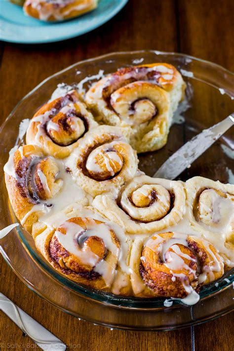 Easy Cinnamon Rolls (from scratch) - Sallys Baking Addiction