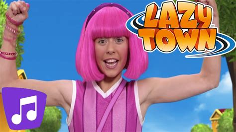 Lazy Town | Having a Great Time Music Video - YouTube