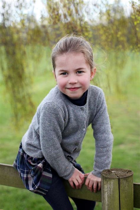 New photos of Princess Charlotte released ahead of her 4th