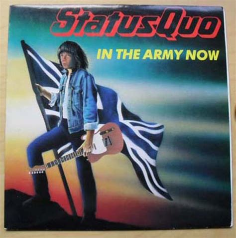 Status Quo In The Army Now Records, LPs, Vinyl and CDs