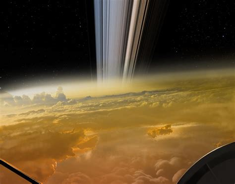 Sorry, this mind-blowing view wasn't Cassini's last image