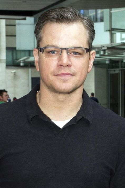Matt Damon: 'I Want to Be Just Like Brad Pitt'