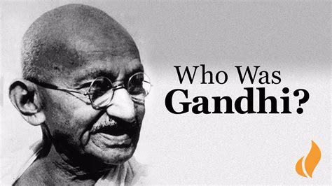 "Who Was Mohandas ""Mahatma"" Gandhi? - YouTube"