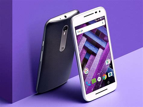 Moto G Turbo Edition With Water and Dust Repellence