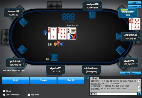 888 Poker Review for Legal Play Online in New Jersey