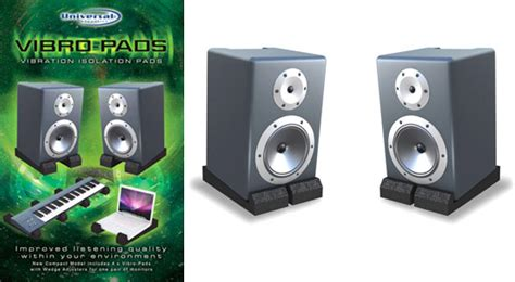 Vibro-Pads - Studio Monitor Isolation