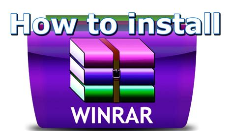 How to install winrar new version ( 86 bit & 64 bit ) free