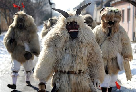 carnival in Mohacs – Hungary   sunshine and chaos