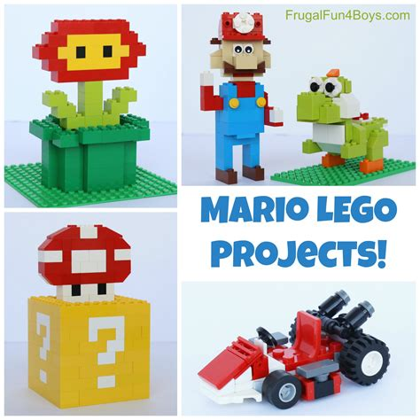 Mario LEGO Projects with Building Instructions - Frugal