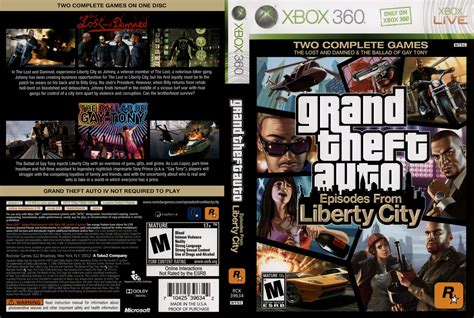 Capa GTA - Grand Theft Auto - Episodes From Liberty City