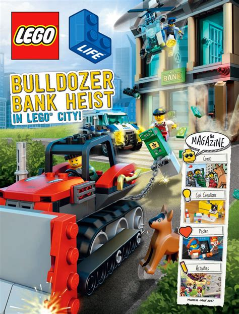 Brickfinder - LEGO Life Magazine Now Available For Digital