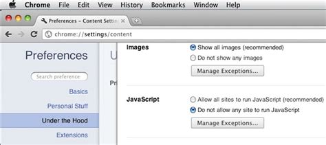 How to Enable or Disable Javascript in Web Browsers