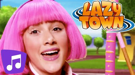 Lazy Town I Wanna Dance & Many More Music Video - YouTube