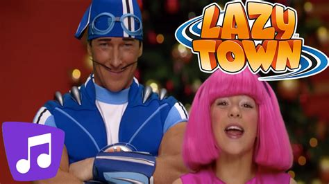 Jolly Holiday Music Video | LazyTown - YouTube