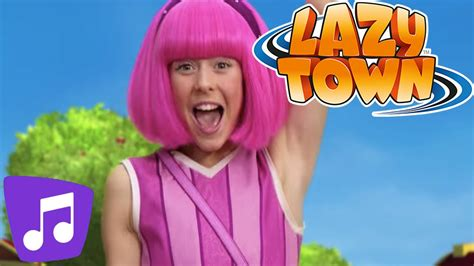 Lazy Town | Secret Friend Day Music Video - YouTube