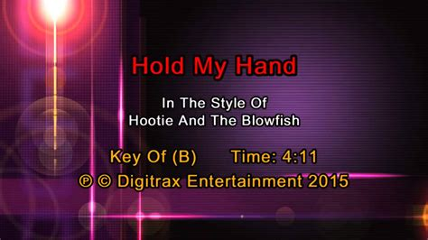Hootie & The Blowfish - Hold My Hand (Backing Track) - YouTube