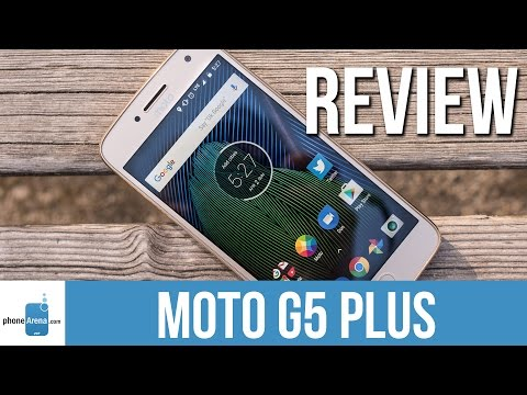 Moto G5 Plus now available, only $185/$230 on Amazon
