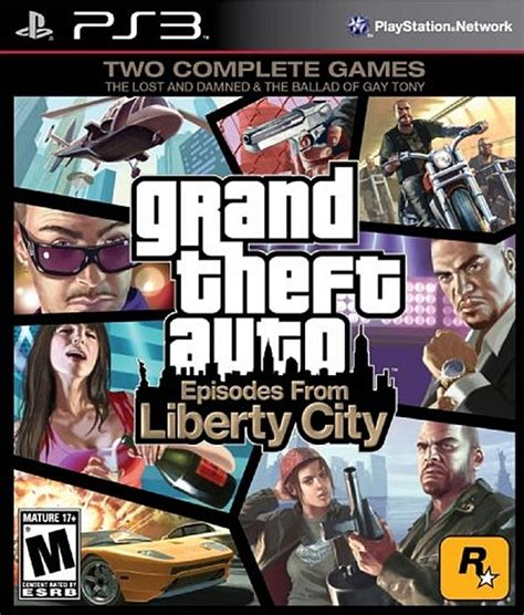 Grand Theft Auto: Episodes from Liberty City - PlayStation