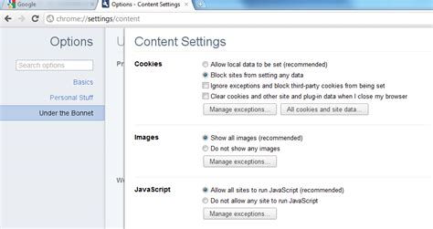 How to enable JavaScript in Google Chrome - How-To - PC