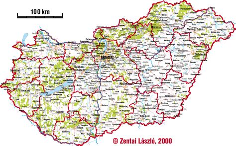 Maps: Entire Hungary (in one file)