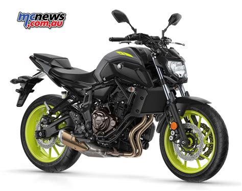Yamaha MT-07 gets sharp new styling for 2018 | MCNews