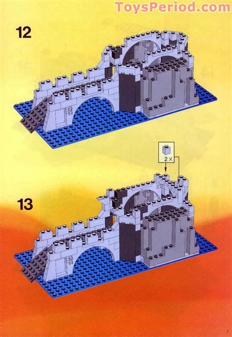 LEGO 6075-1 Wolfpack Tower Set Parts Inventory and