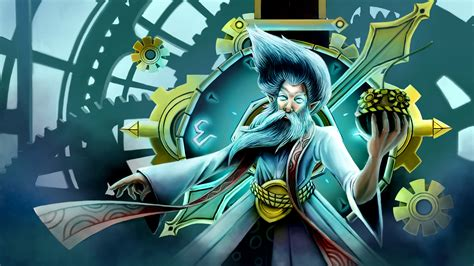 Video Game League Of Legends Zilean The Chronokeeper Mage