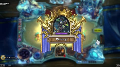 Hearthstone : Beating The Lich King With Hunter - YouTube