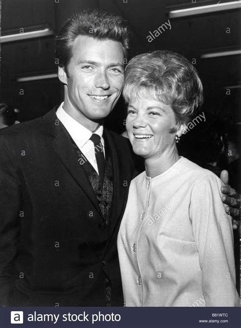 Clint Eastwood, Maggie Johnson Stock Photo - Alamy