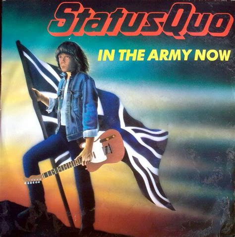 "Status Quo - In The Army Now (Vinyl, 12"", 45 RPM) 