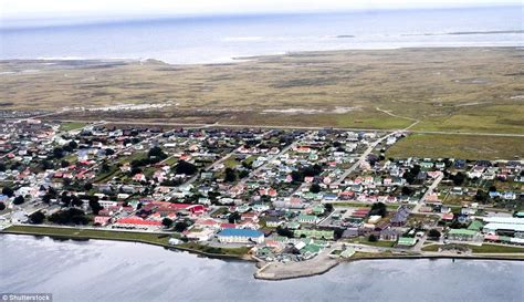 Inside Stanley, the capital of the Falkland Islands