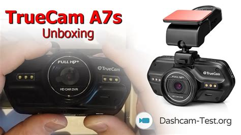 Unboxing ★ TrueCam A7s ★ Dashcam - Autokamera HD - YouTube
