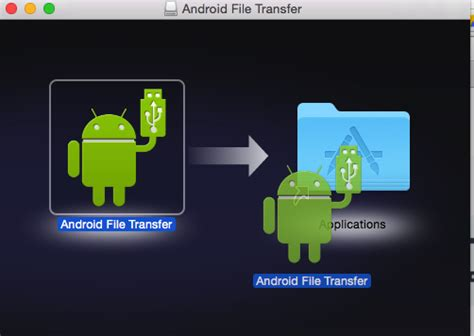Transfer files Between Mac OS X & Android in MTP USB Mode