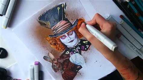 Copic Marker paintings