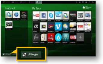 How to check available apps on your TV (non-Android models