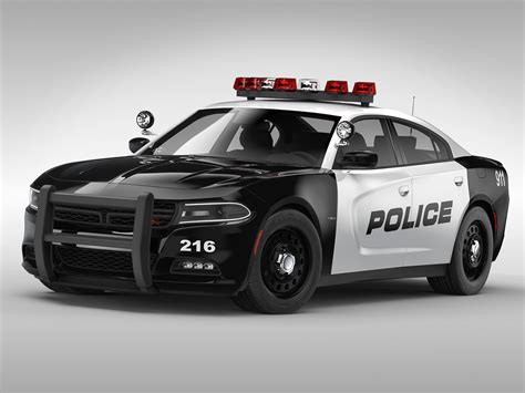 3D Dodge Charger Police 2015 | CGTrader