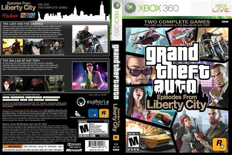 Grand Theft Auto Iv Episodes From Liberty City Xbox 360