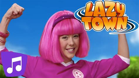 Lazy Town | All Together Music Video - YouTube