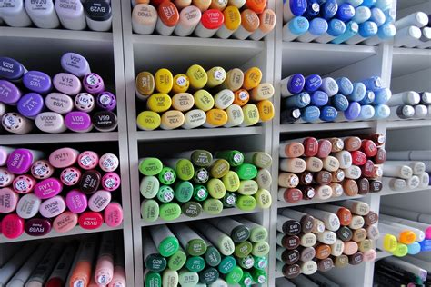 The Best Copic Marker Sets for Professional & Beginner Artists