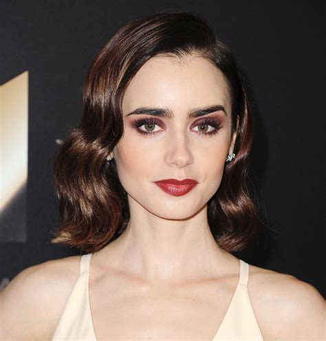 How to Get Lily Collins' Hollywood Film Awards 2016 Makeup